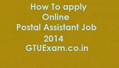 How to Apply Online for Postal Assistant Job
