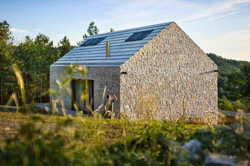 Compact Karst House by dekleva gregorič architects