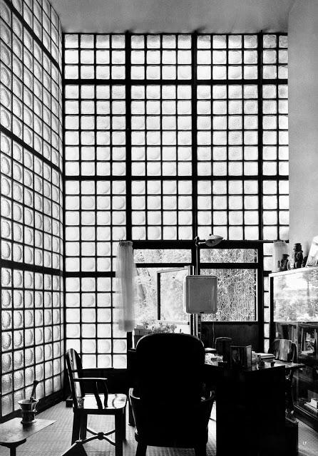 Le container la maison de verre de pierre chareau 1937 dav - Le verre maison ...