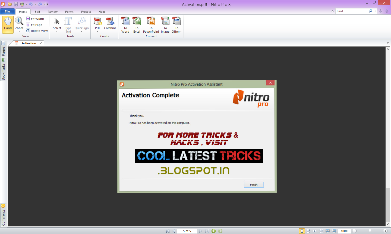 download nitro pro 9.5.3.8 64 bit