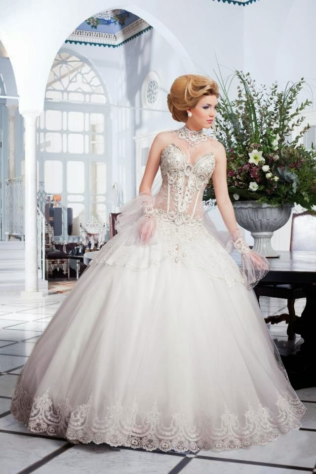 Salon Mona 2014 Spring Bridal Collection