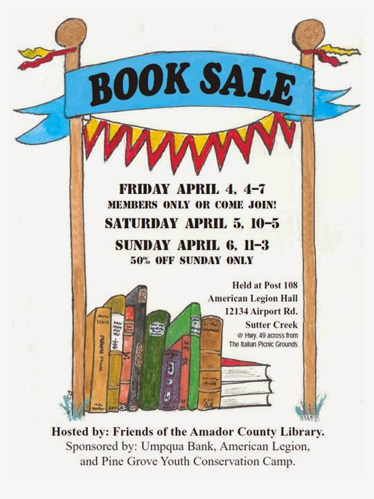 FACL Book Sale - Apr 4-6