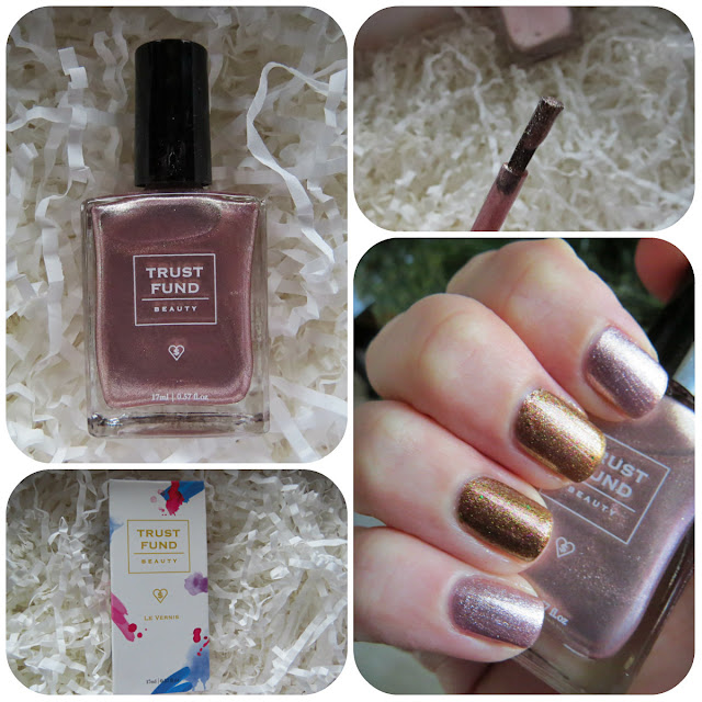 Trust Fund Beauty Nail Polish in Champagne Socialite