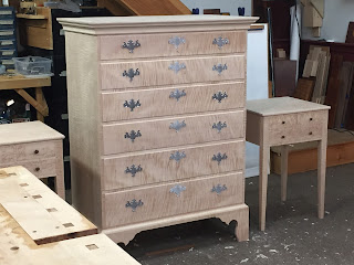Reproduction Chest of Drawers and Nightstands