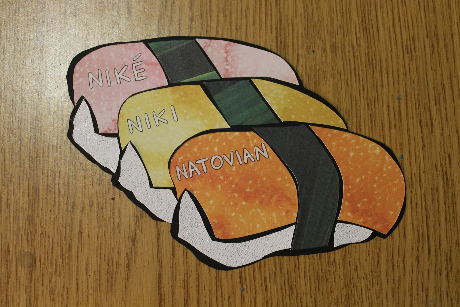 Luckily from what I\u0027ve heard so far my residents really like the new door decs....and they think I\u0027m the coolest RA ever of course. & Allie Fauer: Sushi Door Decorations