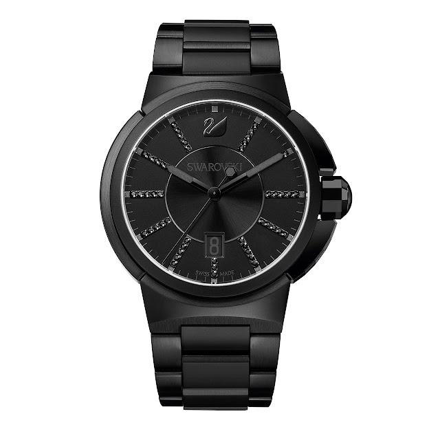 Swarovski - Piazza Grande Watch black