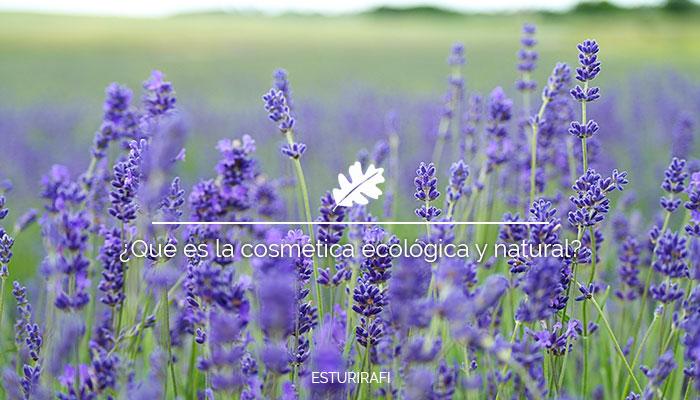 Qué es la cosmética ecológica y natural