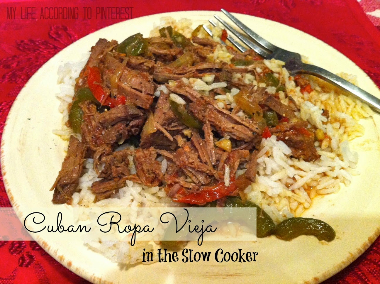 ... According to Pinterest: Delish Dinner: Ropa Vieja in the Slow Cooker