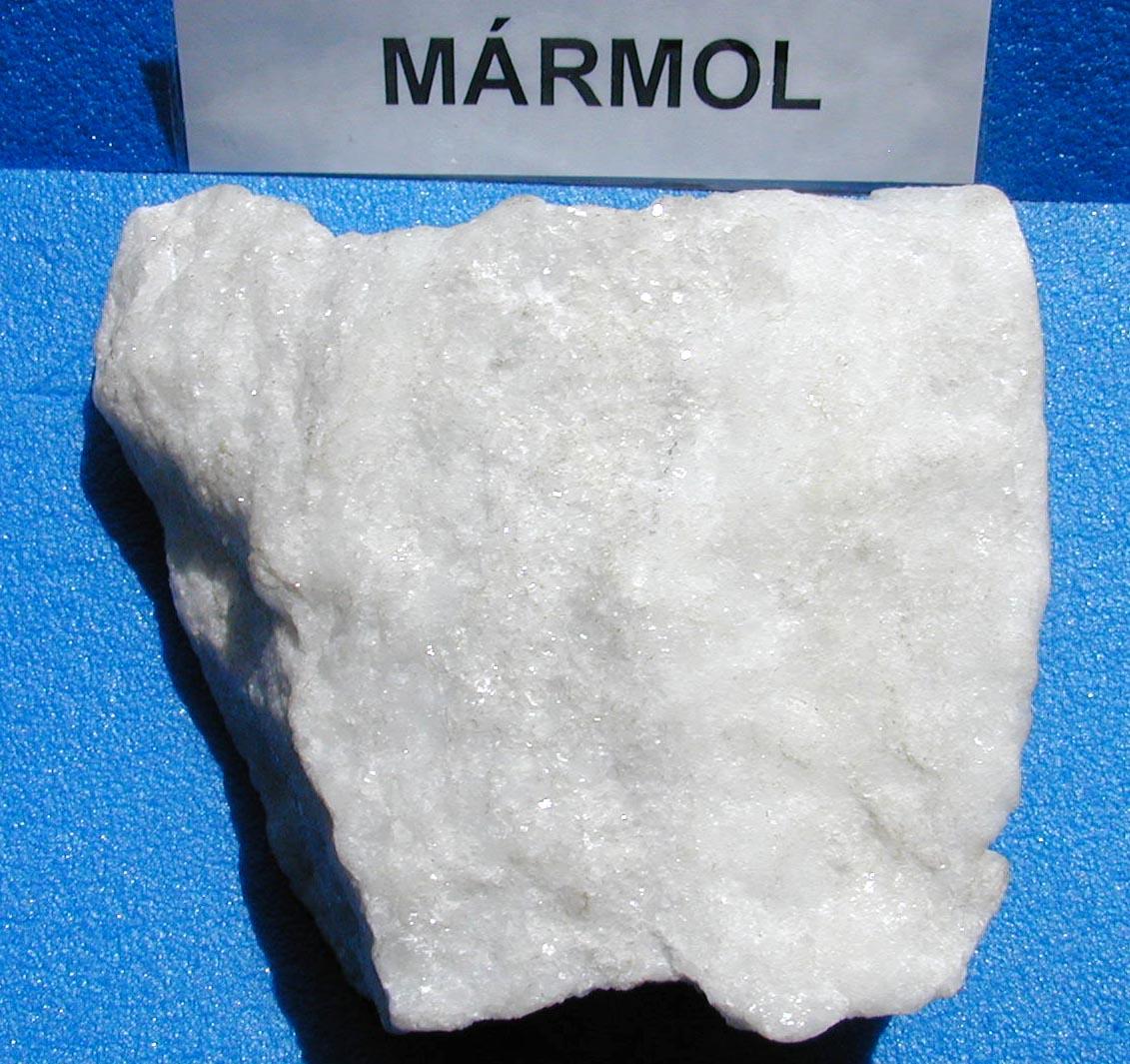 Biologia geologia 1 bach tema 2 minerales y rocas for Imagenes de piedra marmol