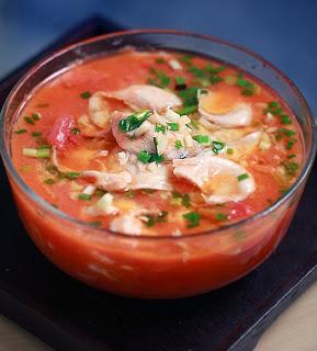 Nấu riêu cá kiểu Trung Quốc mát rượi ngày hè