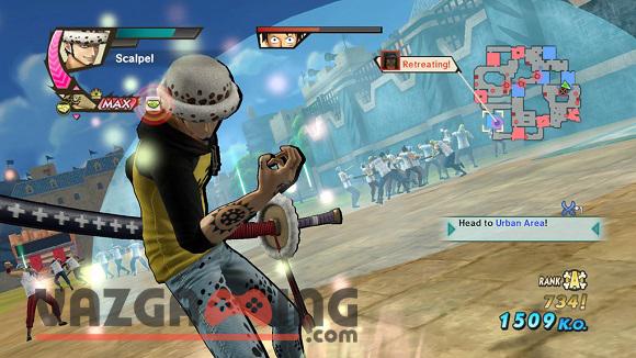 One Piece Pirate Warriors 3 Gameplay 4