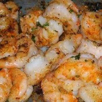 recipes: garlic parmesan shrimp