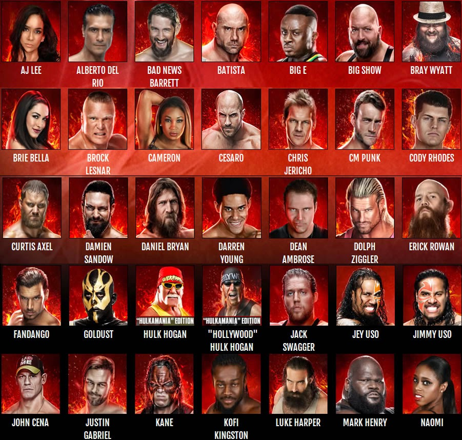 لعبة المصارعة الحرة 2015