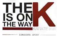 Campaña oficial de la WKF para que el Karate-do sea incluido en los Juegos Olímpicos del 2.020.