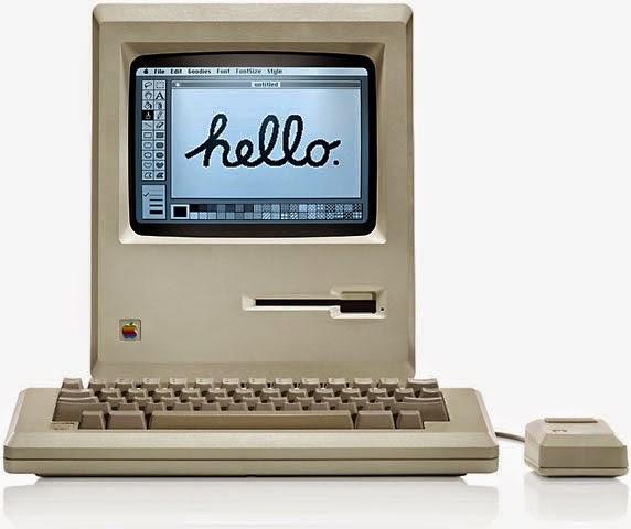 моноблок Macintosh 128K