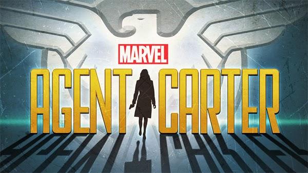 "Poster ""Agente Carter"" serie de TV"