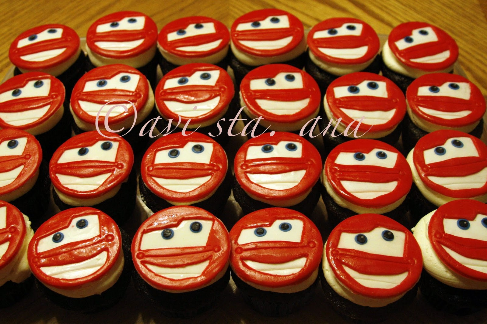 A Lot of Sugar Cars Lightning McQueen