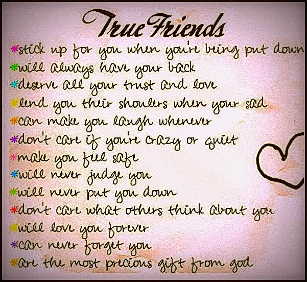 In Search Of A True Friend In The Midst Of Friends