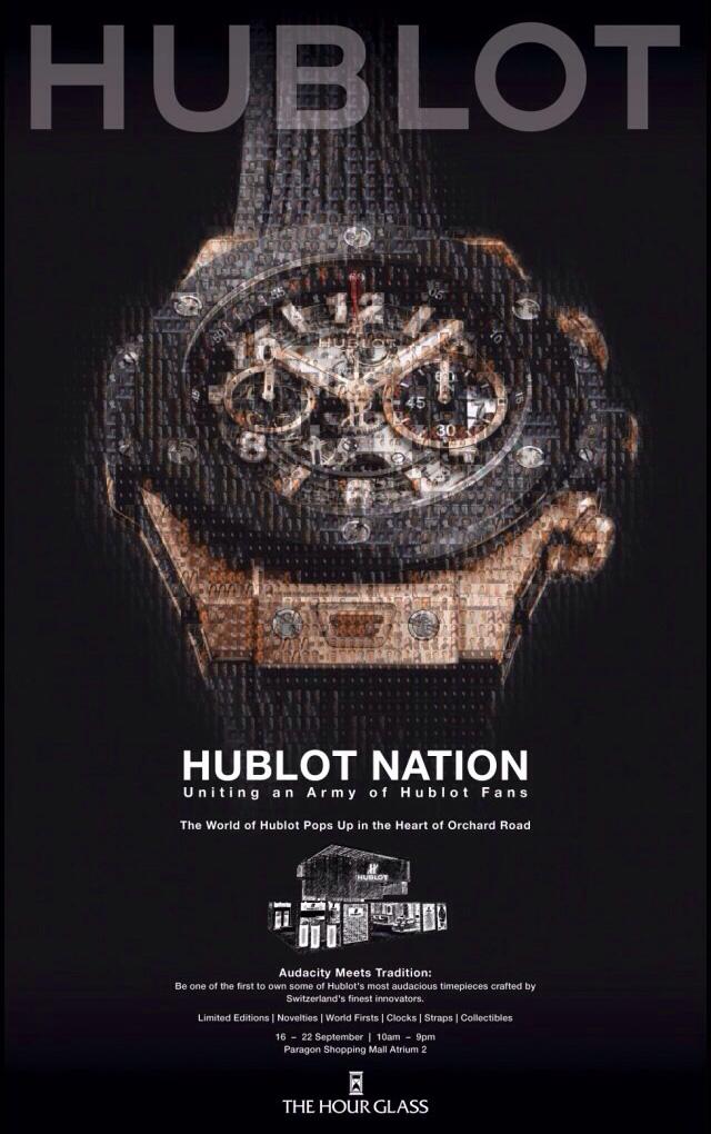 Hublot Pop Up Store Opens Singapore 16 22 September 2014