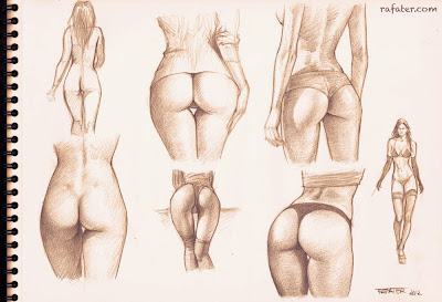 beautiful booty sketches by rafter