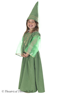 Maid Marion Medieval Kids Costume from Theatrical Threads Ltd