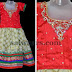 Polka Dots Kids Cream lehenga