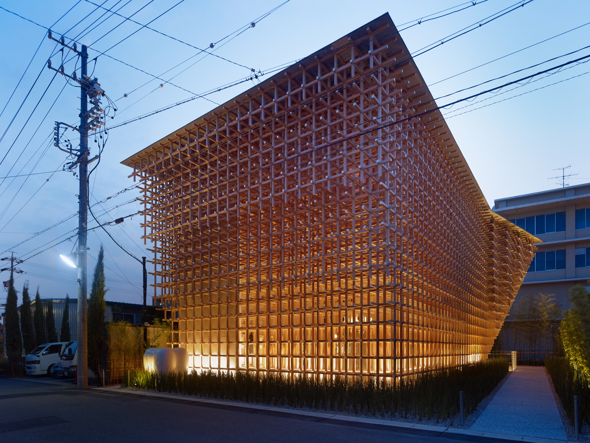 the sandman chronicles prostho museum research centre by kengo kuma. Black Bedroom Furniture Sets. Home Design Ideas