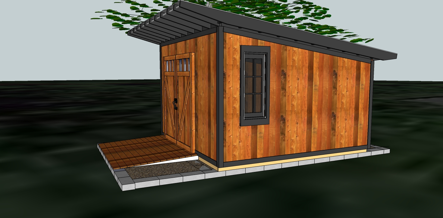 11 fresh modern shed designs building plans online 70553 for Contemporary shed plans