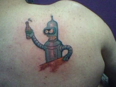 Futurama Tattoo Design Picture Gallery - Futurama Tattoo Ideas