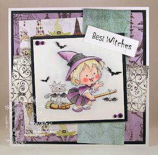 Heather's Hobbie Haven - Broom Ride Card Kit