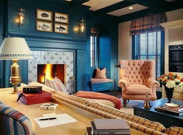 Warna Cat Ruang Tamu Biru