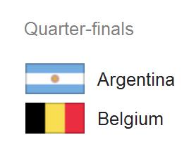Jadwal Pertandingan Argentina vs Belgia - Perempat Final Piala Dunia 2014