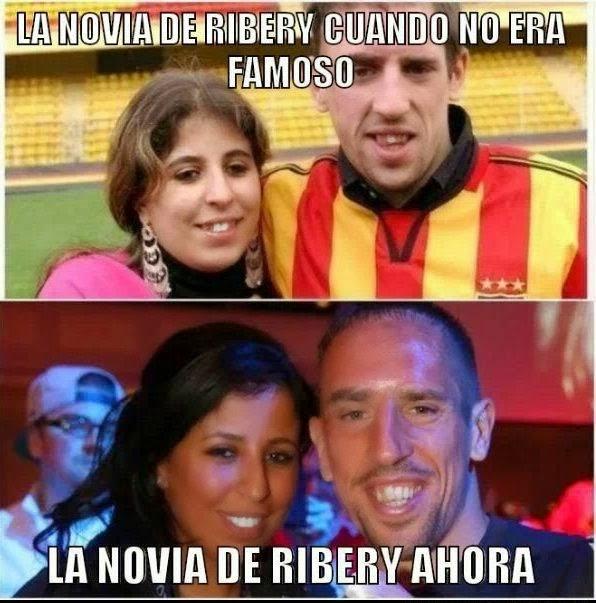 La novia de Ribery
