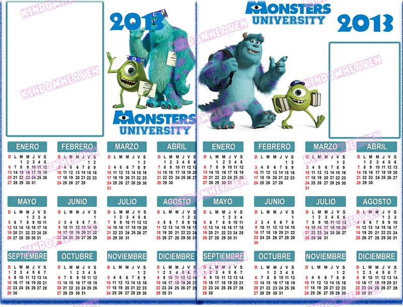 calendarios psd 2013 monter inc