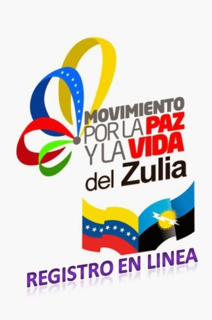 Registrate en el Movimiento por la Paz y Vida Zulia