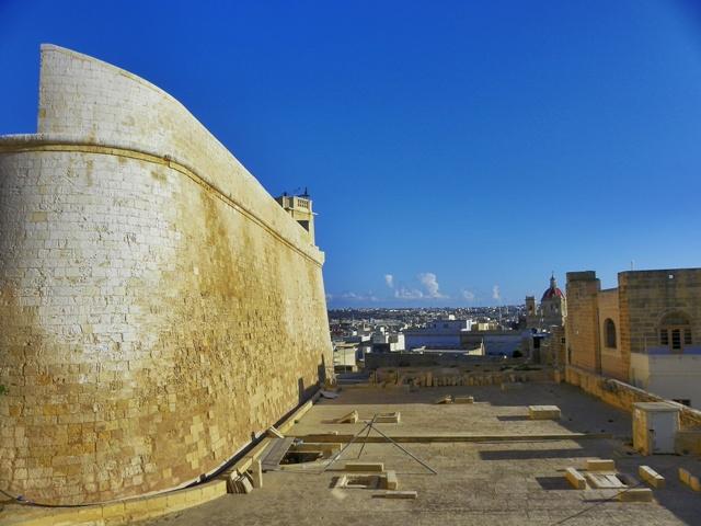 Ciudadela de Rabat en Gozo