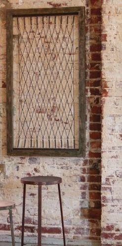 Antique Crib Repurpose