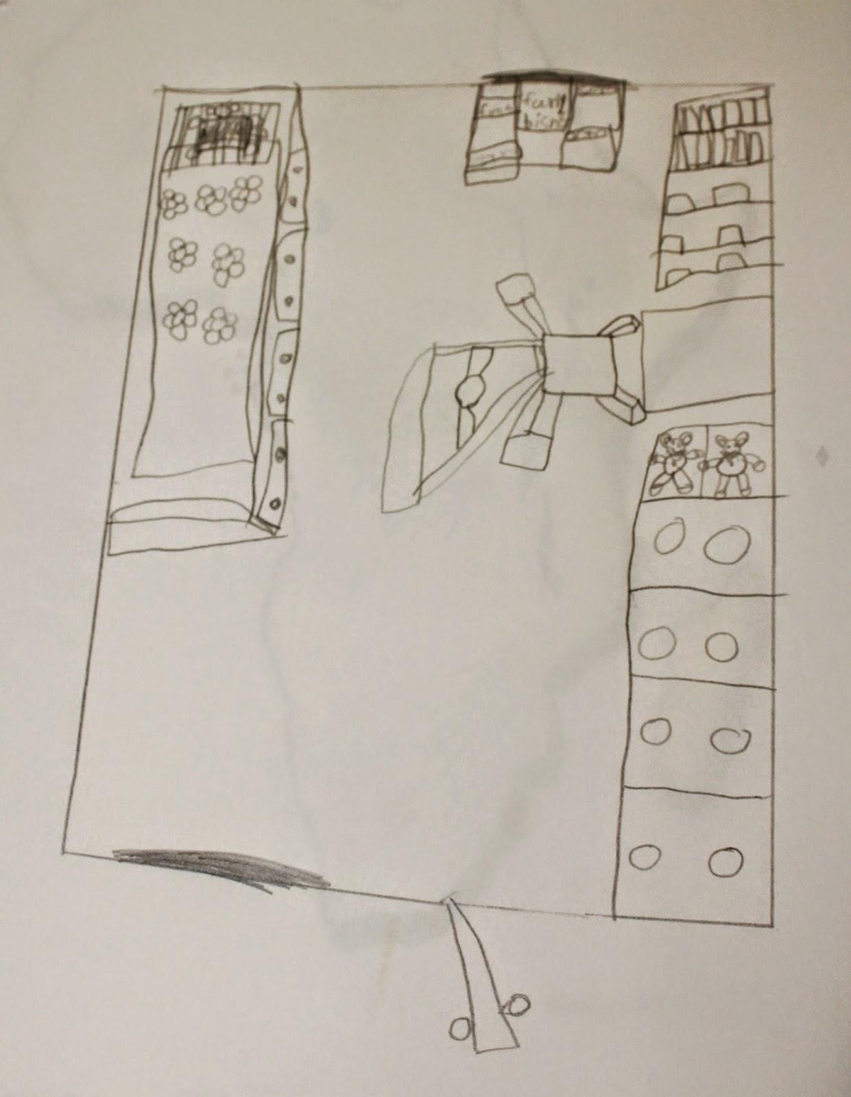 how to draw ferry bird eye view