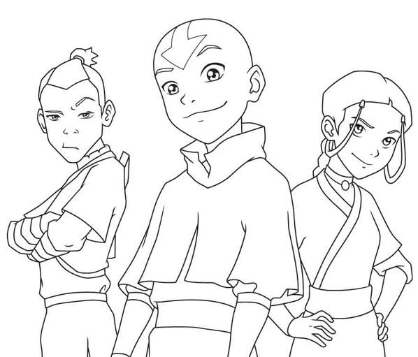 Dibujos de Avatar para colorear   Dibujos Para Colorear