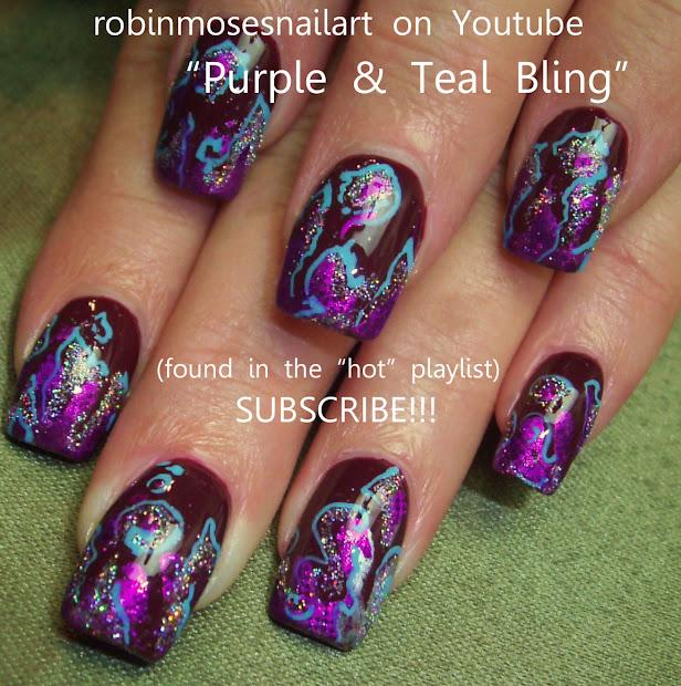 robin moses nail art october 2012