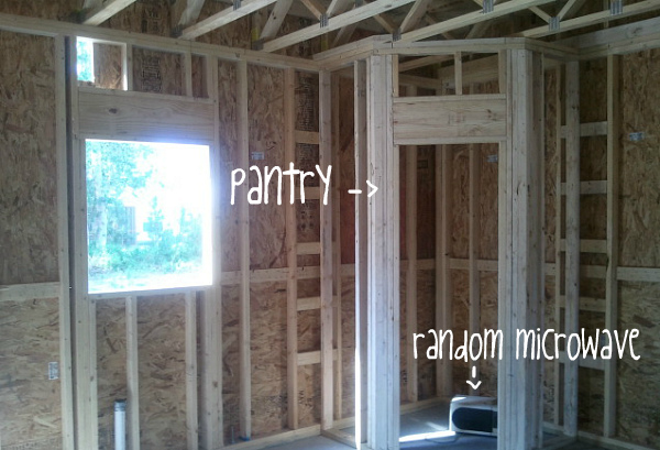 pantry construction