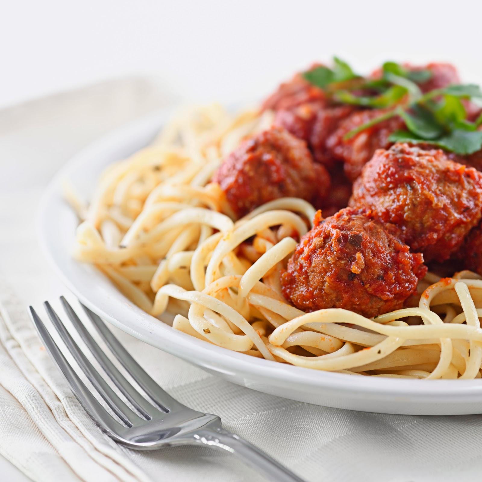 spaghetti-polpette