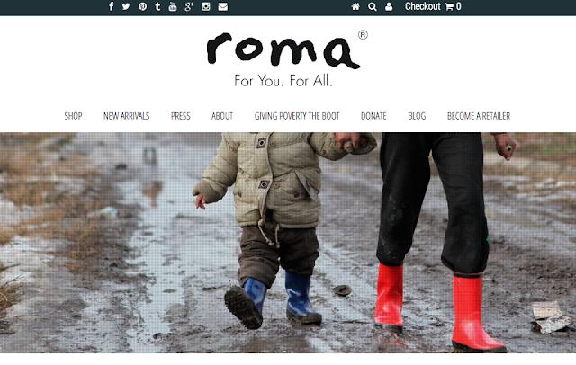 roma rainboots