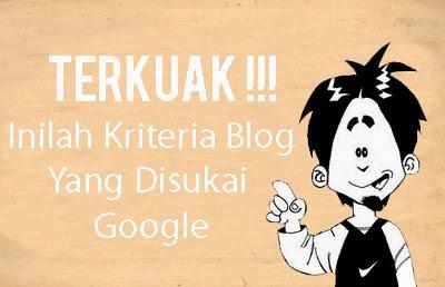 Kriteria Blog