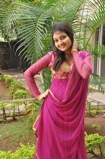 Actress Priyanka Latest Pictures in Pink Salwar Kameez at Na Sami Ranga Telugu Movie Press Meet  0014