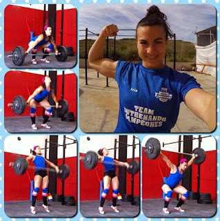 Iria Ruipérez halterofilia
