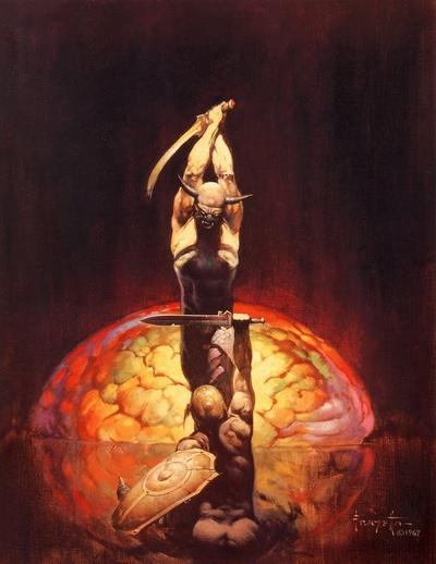 Fantasy Art Frank Franzetta