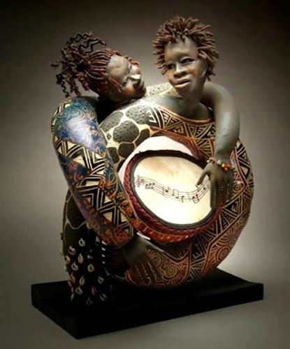 Patricia Boyd, Esculturas
