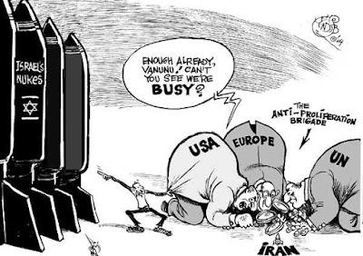 As armas nucleares de Israel existem, o Irã não as possui