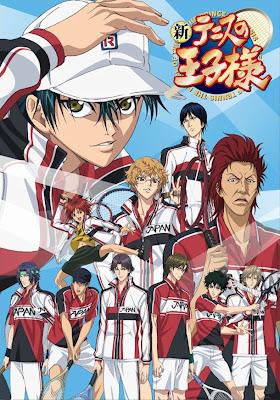 Shin Tennis no Oujisama Anime estreno enero 4 de 2012